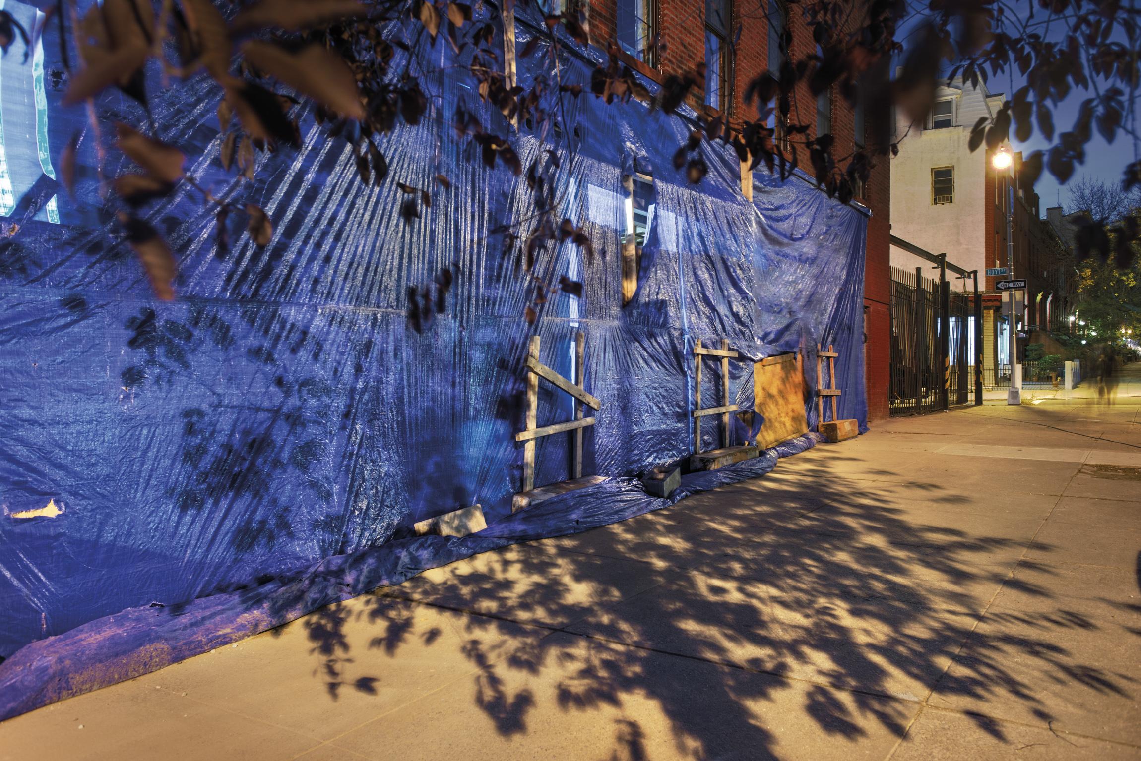 Construction, Gowanus,  Brooklyn NY