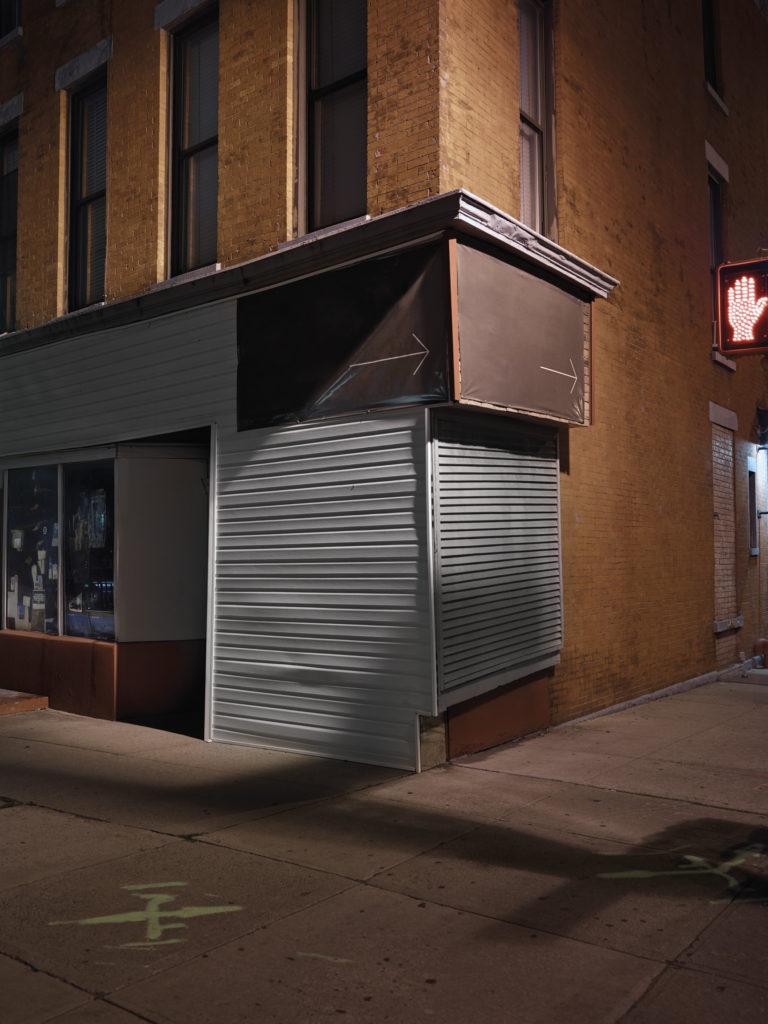 Street Corner - Brooklyn, New York