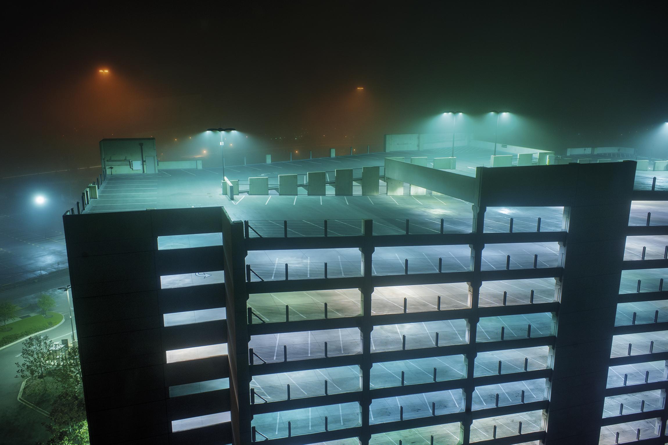 Houston Parking Lot, Houston, TX