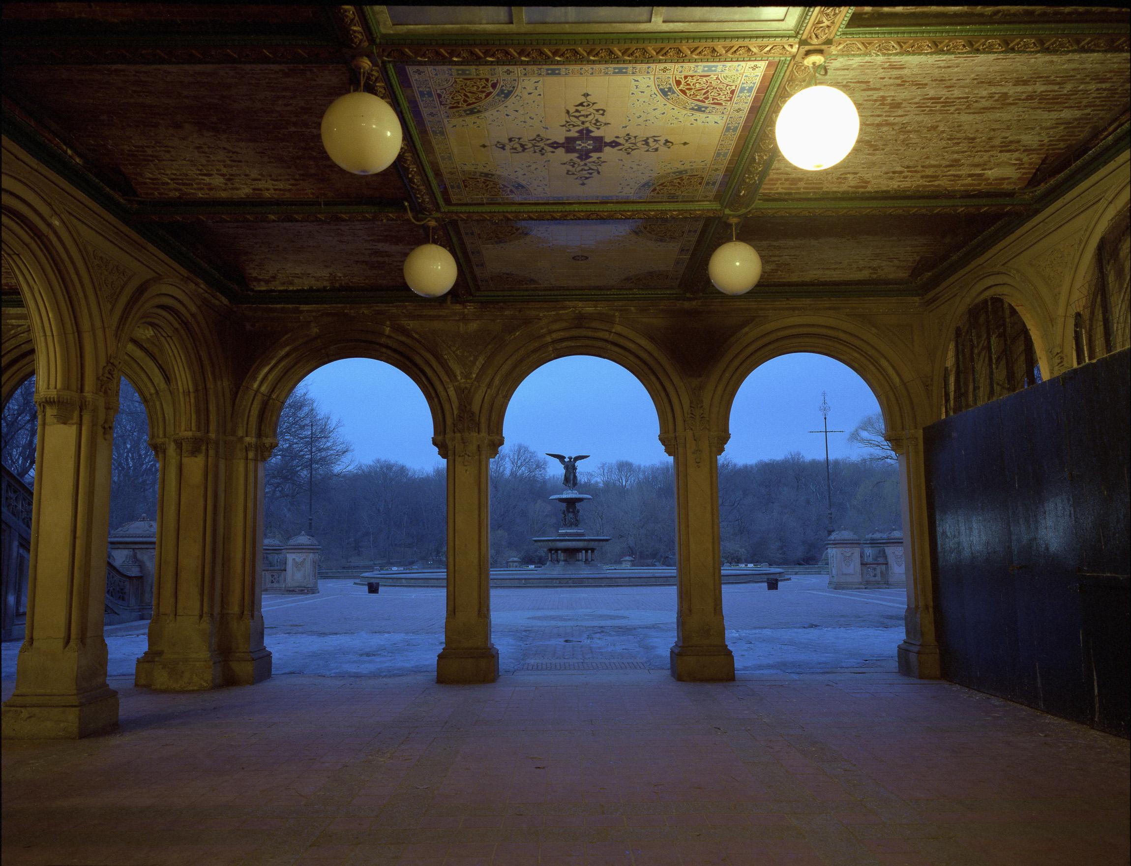 Bethesda Fountain, Central Park - New York, New York