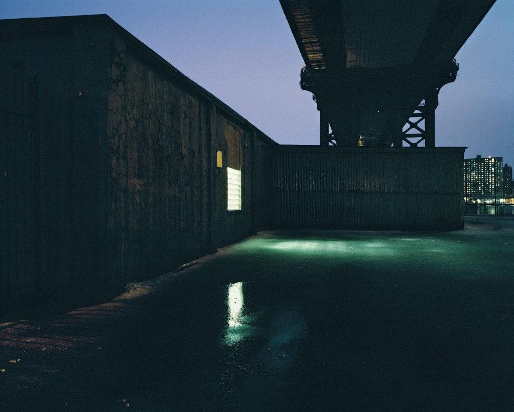 Under the Manhattan Bridge - New York, New York