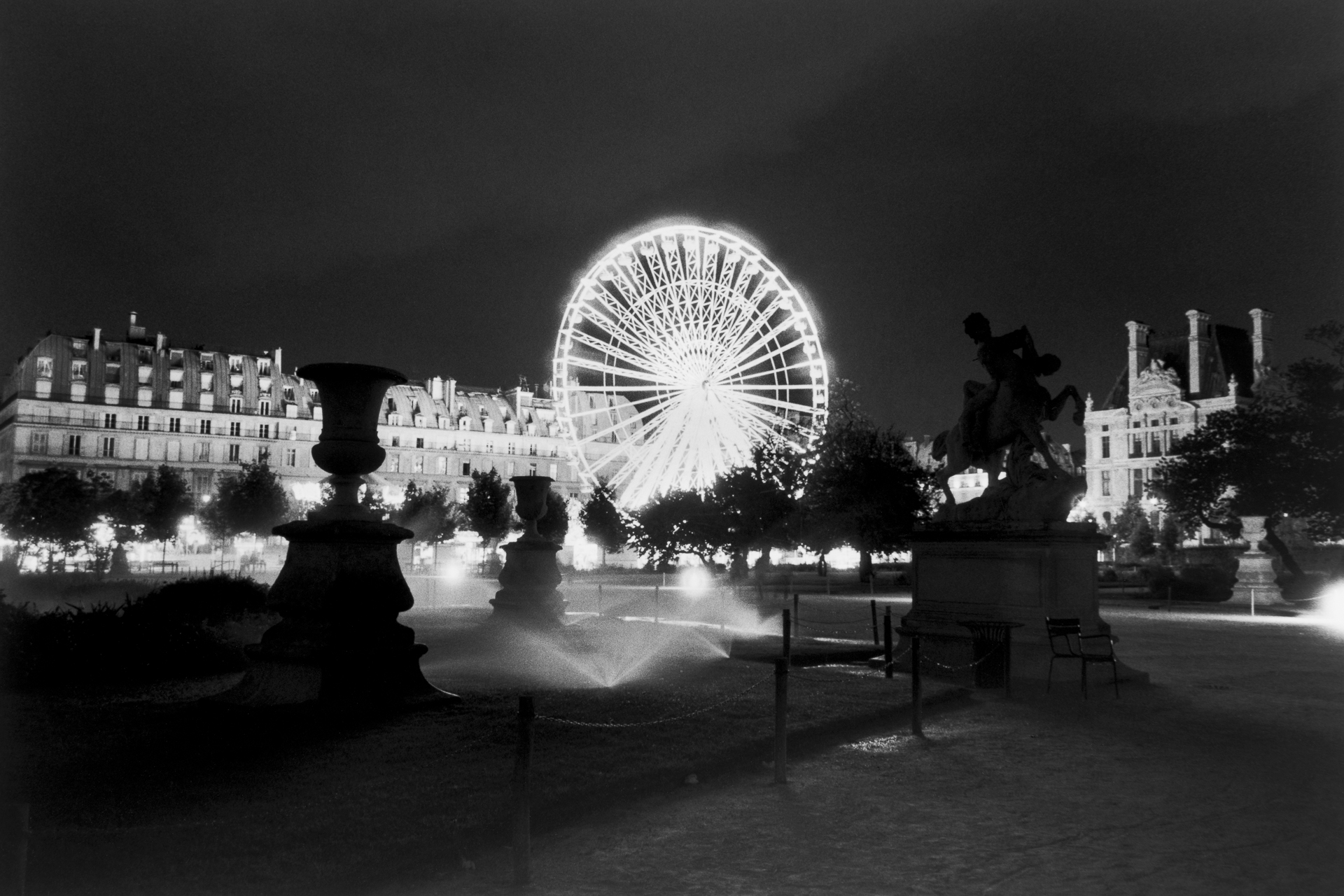 Ferris Wheel from the Tuileries - Paris, France