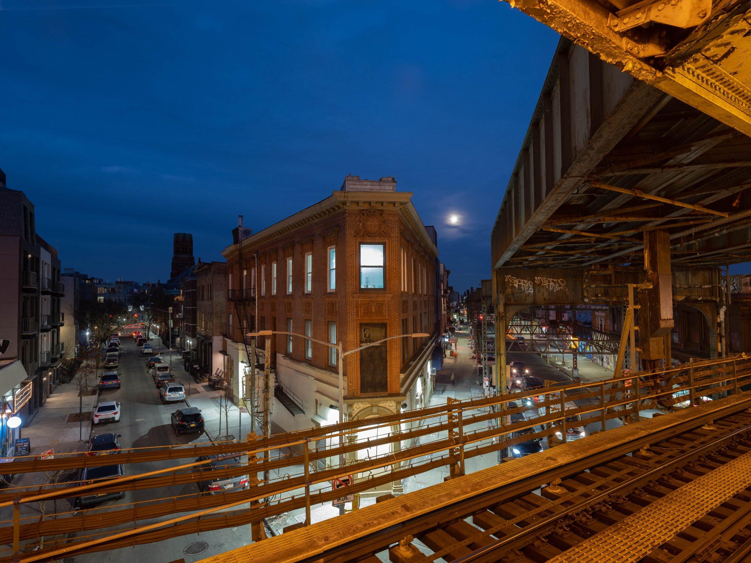 Moon Over Brooklyn – Bushwick, Brooklyn, NY
